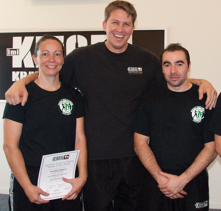 Instructors Veronica and Yury  with Alan Predolin, KMG's North American director