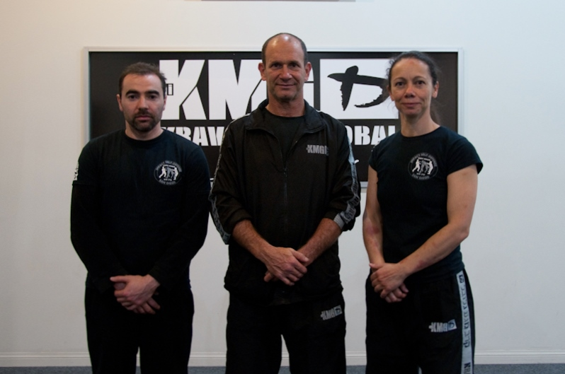 Instructors Yury and Veronica with Eyal Yanilov